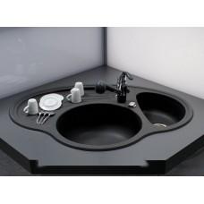 Круглая мойка для кухни